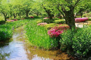 Japans schönste Garten, Kanazawa von Inge Hogenbijl