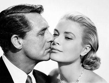 Grace Kelly and Cary Grant von Bridgeman Images