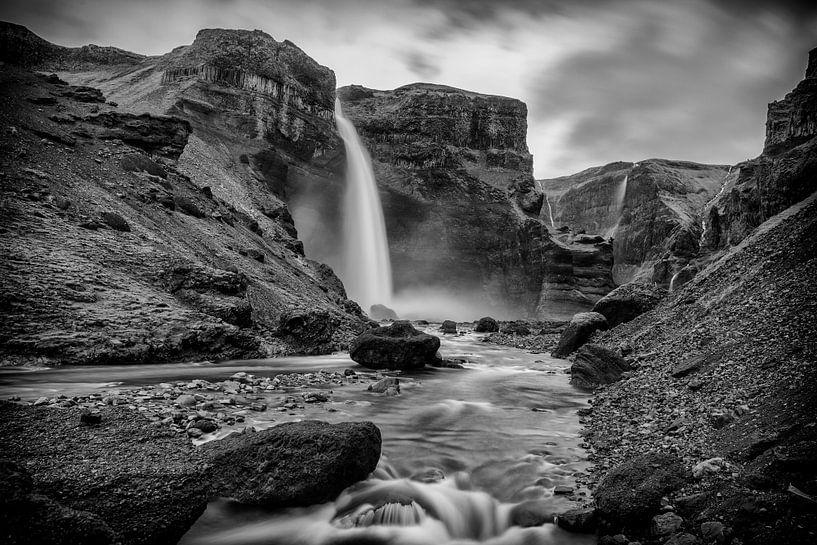 Haifoss waterval von Sjoerd van der Wal
