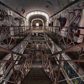 JVA Gevangenis - Urban exploring Duitsland von Frens van der Sluis