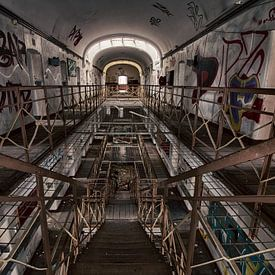 JVA Gevangenis - Urban exploring Duitsland van Frens van der Sluis