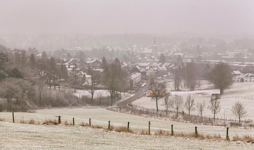 Simpelveld in de sneeuw van John Kreukniet