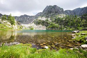 Het nationale park Mercantour in Frankrijk van