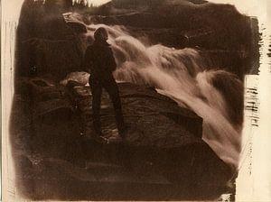 Ilsestein waterval in de Harz, Duitsland van