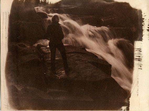 Ilsestein waterval in de Harz, Duitsland van Mark van Hattem