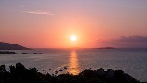 Zonsopgang op Corsica