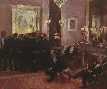 Warten auf die Entscheidung des Ausschusses, Gaston de La Touche