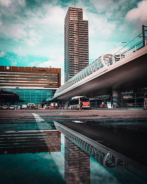 Gare routière Gare centrale de La Haye sur Chris Koekenberg