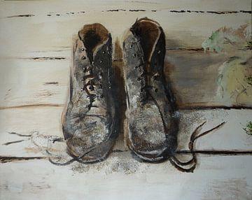 Schoenen stilleven sur Coen de Haan