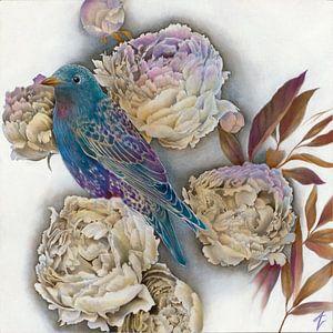 Human Nature III van Amy Verhoeff