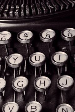 Alte Schreibmaschine van