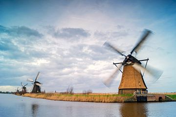 Niederländischen Mühlen-kinderdijk von Jan Koppelaar
