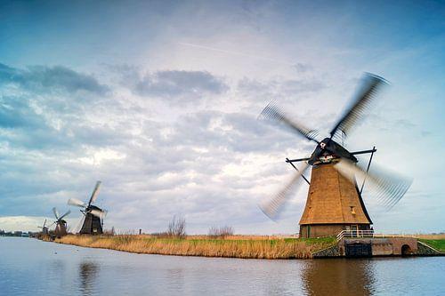 Niederländischen Mühlen-kinderdijk