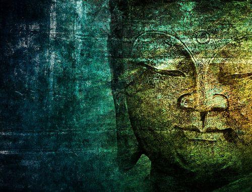 blue buddha von Claudia Moeckel