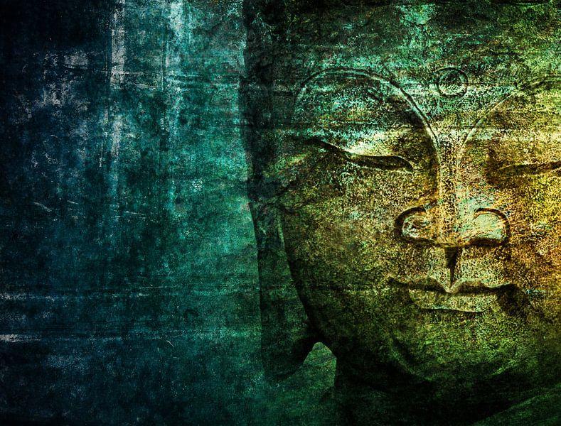 blue buddha van Claudia Moeckel
