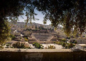 Theather in Amman, Jordan van Anne Vermeer