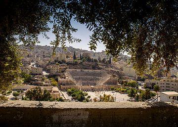 Theather à Amman, Jordanie sur Anne Vermeer