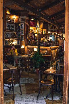 Café in Sevilla van Arnold Maisner