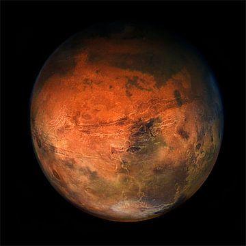 Planeet Mars van Jos Verhoeven