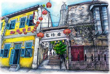 Städte-Serie 05 - Kuala Lumpur von Yeon Yellow-Duck Choi