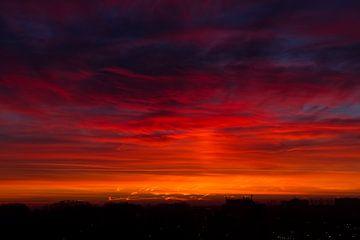 City Sunrise van Qeimoy