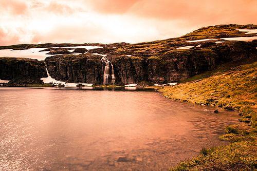 Flotvatnet aan de Snøvegen