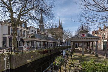 Visbanken Gouda van Rinus Lasschuyt Fotografie