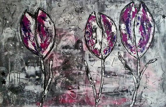 Tulpen van Femke van der Tak (fem-paintings)