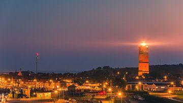 Sonnenuntergang auf der Brandaris, Terschelling von Henk Meijer Photography