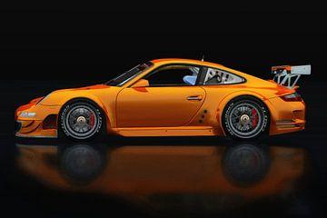 Porsche 997 GT3 RS Seitenansicht von Jan Keteleer