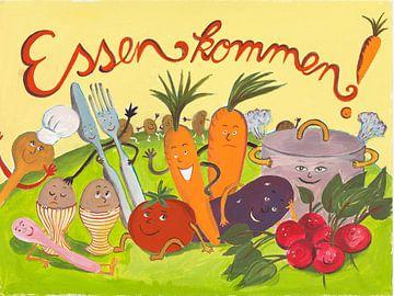 Essen kommen ! von Dorothea Linke
