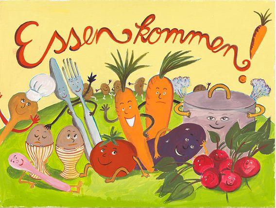 Essen kommen ! van Dorothea Linke