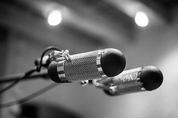 Aufnahmemikrofon-Musikstudio von Charlotte Van Der Gaag