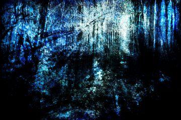 Aan het eind van een bos #01 van Peter Baak