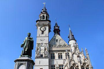 Grote markt in Aalst, België van Imladris Images