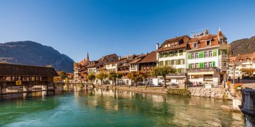 Interlaken in der Schweiz von Werner Dieterich