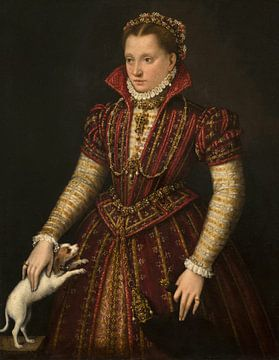 Porträt einer Adligen, Lavinia Fontana