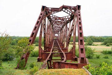 Pont ferroviaire abandonné. sur Roman Robroek