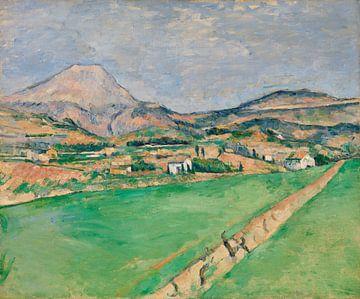 Cézanne, Auf dem Weg zum Berg Sainte-Victoire (ca. 1878-1879) von Atelier Liesjes