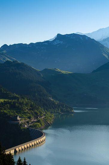 Lac de Roselend 7 van Desh amer
