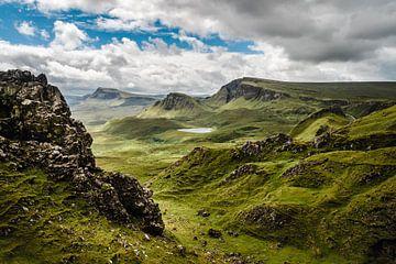 Uitzicht over de Schotse hooglanden sur Bjorn Snelders