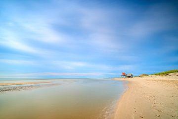 Noordzeestrand aan de Nederlandse kust van Jenco van Zalk