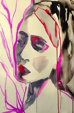 Zwischen den Zeilen lesen von Helia Tayebi Art