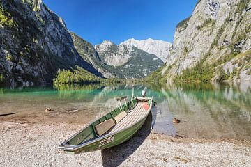 Obersee mit Watzmann, Bayern, Deutschland von Markus Lange