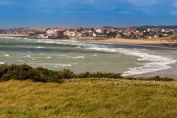 Wellen vor der Küste von Ambleteuse von Easycopters