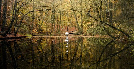 Reflective Planets van Paul Hemmen