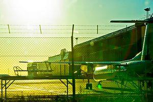 Luchthaven: de Cargo Terminal