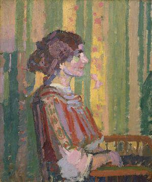 Arod Gilman~Stanislawa de Karlovska (Frau Robert Bevan)