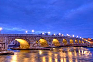 Steinerne Brücke bis zur Dreifaltigkeit von Roith Fotografie