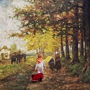 Wandern im Jahr 1880 von Ruben van Gogh